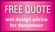 Free Quote and design advice for dancewear