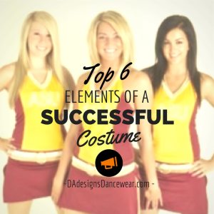 6 elements of a successful costume