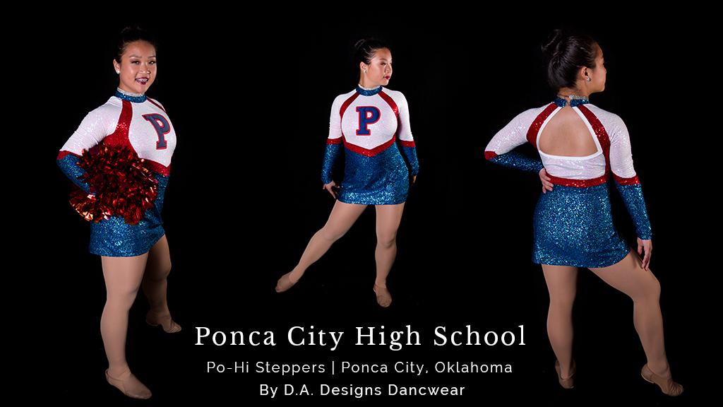 High School Pom Dance Costumes
